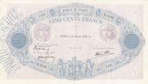 France 500 Francs Rose et Bleu - 12/01/1939 Série H3149