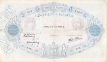 France 500 Francs Rose et Bleu - 14-04-1938 Série N.2811 - TB+