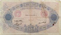 France 500 Francs Rose et Bleu - 15-04-1937 Série L.2545 - B
