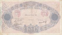 France 500 Francs Rose et Bleu - 16-02-1928 Série V.1072
