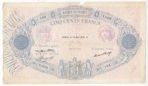France 500 Francs Rose et Bleu - 18-05-1933 Série Y.2220- p.TB