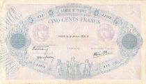 France 500 Francs Rose et Bleu - 19-01-1939 Série J.3172 - TB