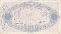 France 500 Francs Rose et Bleu - 20-07-1939 Serial H.3498 - TTB