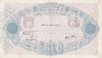 France 500 Francs Rose et Bleu - 23-03-1939 Série S.3282