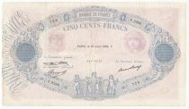 France 500 Francs Rose et Bleu - 23-04-1936 Série F.2266 - joli TB