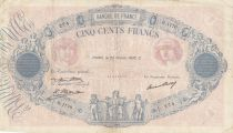 France 500 Francs Rose et Bleu - 25-02-1932 Série H.1770