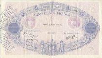 France 500 Francs Rose et Bleu - 25/05/1939 Série C3415