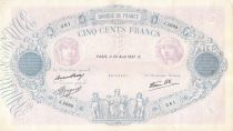 France 500 Francs Rose et Bleu - 26-08-1937 Série J.2669 - TB+