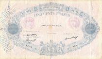 France 500 Francs Rose et Bleu - 27-04-1933 Série N.2176 - PTB