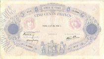 France 500 Francs Rose et Bleu - 27/05/1938 Série Q2906