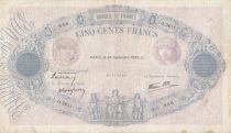 France 500 Francs Rose et Bleu - 28-09-1939 Série O.3611