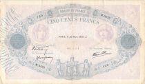 France 500 Francs Rose et Bleu - 30-03-1939 Série M.3325 - TB+