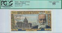 France 500 Francs Victor Hugo - 02/09/1954 - AU55 PCGS
