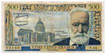 France 500 Francs Victor Hugo - 02-09-1954 - Série Y.44 - PTB