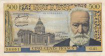 France 500 Francs Victor Hugo - 02-09-1954 Série G.41 - TB