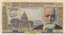 France 500 Francs Victor Hugo - 02-09-1954 Série Y.31 - TTB