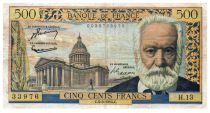 France 500 Francs Victor Hugo - 04-03-1954 - Série H.13 - TB+