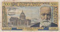 France 500 Francs Victor Hugo - 04-03-1954 Série C.19 - TB