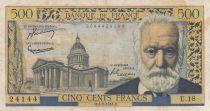 France 500 Francs Victor Hugo - 04-03-1954 Série U.18 - TB