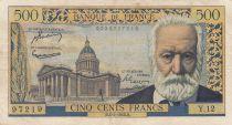 France 500 Francs Victor Hugo - 04-03-1954 Série Y.12 - TTB