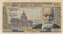 France 500 Francs Victor Hugo - 06-01-1955 Serial M.57 - F - P.133