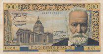 France 500 Francs Victor Hugo - 06-01-1955 Série E.52 - TB