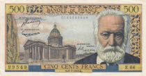 France 500 Francs Victor Hugo - 06-01-1955 Série E.66