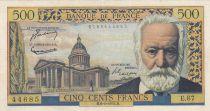 France 500 Francs Victor Hugo - 06-01-1955 Série E.67 - TTB