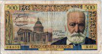 France 500 Francs Victor Hugo - 06-01-1955 Série K.67