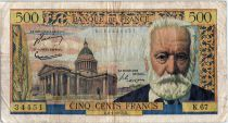 France 500 Francs Victor Hugo - 06-01-1955 Série K.67