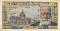 France 500 Francs Victor Hugo - 06-01-1955 Série M.64