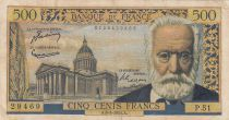 France 500 Francs Victor Hugo - 06-01-1955 Série P.51 - TB