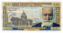 France 500 Francs Victor Hugo - 06-02-1958 - Série W.88 - TB