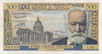 France 500 Francs Victor Hugo - 06-02-1958 Série L.95 - TB