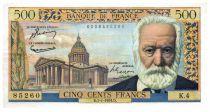 France 500 Francs Victor Hugo - 07-01-1954 - Série K.4 - TTB