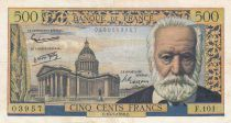 France 500 Francs Victor Hugo - 10-07-1958 - Série F.101 - TTB