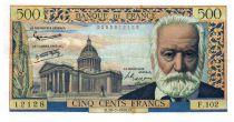 France 500 Francs Victor Hugo - 10-07-1958 - Série F.102 - TTB