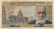 France 500 Francs Victor Hugo - 10-07-1958 Série B.102 - TB