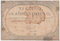 France 500 Livres 20 Pluviose An II (8.2.1794) - Sign. Crosnier