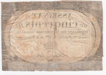 France 500 Livres 20 Pluviose An II (8.2.1794) - Sign. David