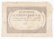 France 500 Livres 20 Pluviose An II (8.2.1794) - Sign. Lenoir