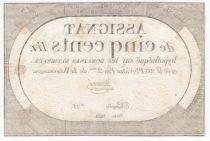 France 500 Livres 20 Pluviose An II (8.2.1794) - Sign. Maugé