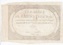 France 500 Livres 20 Pluviose An II (8.2.1794) - Sign. Oder