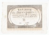 France 500 Livres 20 Pluviose An II (8.2.1794) - Sign. Sal