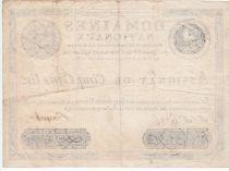 France 500 Livres Louis XVI - 29 Sept. 1790 - Serial F Nº 6316 - VF