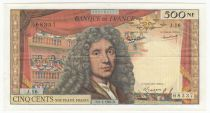 France 500 NF Moliere - 02-01-1964 - Serial J.16 - VF to XF