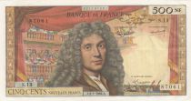 France 500 NF Moliere - 02-01-1964 - Serial S.13 - VF to XF
