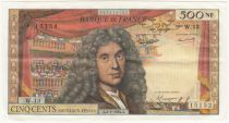 France 500 NF Moliere - 02-01-1964 - Serial W.13 - VF to XF
