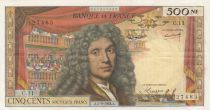 France 500 NF Molière - 05-09-1963 Serial C.11 - VF to XF