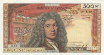 France 500 NF Moliere - 05-09-1963 Serial E.12